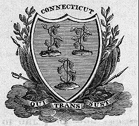 Arms on 1842 Gubernatorial Proclamation