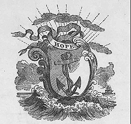 Arms from gubernatorial proclamation, 1842