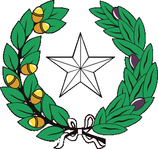 Texas State arms
