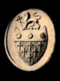 Impression from Boylston seal used by John Adams on Treaty of Paris, 1783 Source: