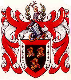 Kennedy arms as depicted on letters patent