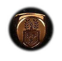Signet ring, gift of Mrs. Kennedy, May 1961  Courtesy John F. Kennedy Library