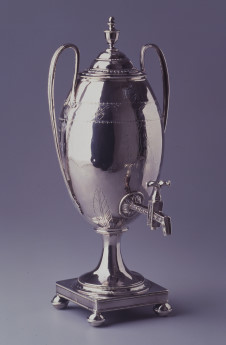 Coffee Urn by J.-L.-A. Leguay, 1789  Courtesy Thomas Jefferson Foundation, Inc./ Monticello