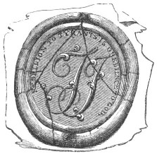 Seal adopted by Thomas Jefferson, 1790  Source: Lossing's Field Book of the Revolution