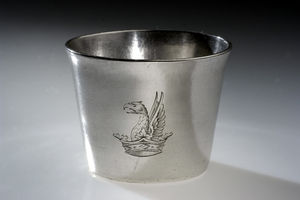 Silver cup used in Revolution  Source: National Museum of American History, Smithsonian Institution